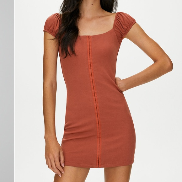 NEW WITH TAGS Aritzia Wilfred drew fortune dress
